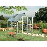 more details on Mill Poly twin-walled 8 x 6ft Greenhouse.