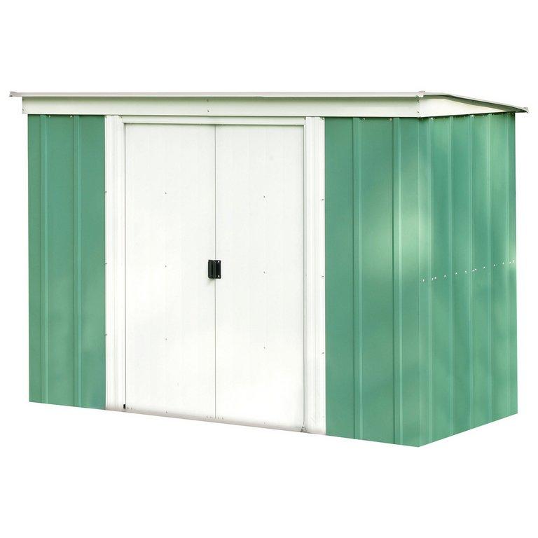 Garden Sheds Metal buy arrow metal garden shed - 8 x 4ft at argos.co.uk - your online