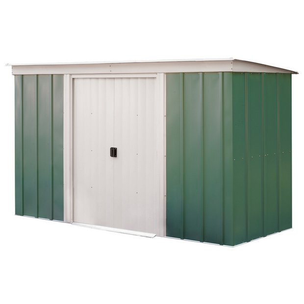 buy arrow metal garden shed 10 x 4ft at argoscouk your online shop for sheds sheds and bases conservatories sheds and greenhouses home and garden
