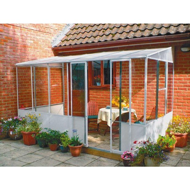 Buy norfolk greenhouses garden room 12 x 6ft at for Conservatories and garden rooms