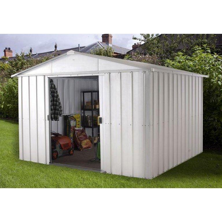 Garden Sheds Argos buy yardmaster metal garden shed - 10 x 13ft at argos.co.uk - your
