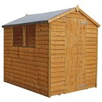 more details on Mercia Overlap Apex Wooden Garden Shed - 7 x 5ft.