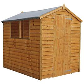 Mercia Wooden 7 x 5ft Overlap Garden Shed