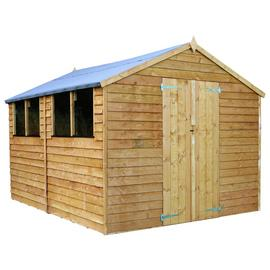 Mercia Wooden 12 x 8ft Overlap Garden Shed