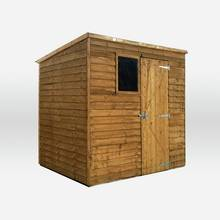 Mercia Overlap Wooden Garden Shed - 7 x 5ft