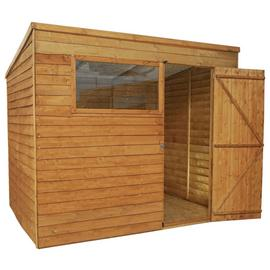 Mercia Wooden 8 x 6ft Overlap Garden Shed