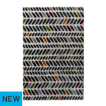 Collection Bright Tik Tak Rug - 100x150cm - Multicoloured