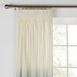 HOME Ombre Unlined Pencil Pleat Curtains - 117x183cm - Green