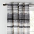 more details on Collection Watercolour Lined Curtains - 168x229cm - Grey.