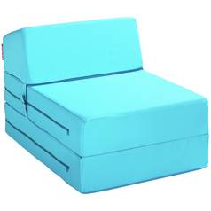 Argos Home Single Chairbed - Crystal Blue