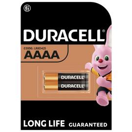 Duracell Specialty Alkaline AAAA Battery 1,5V - Pack of 2