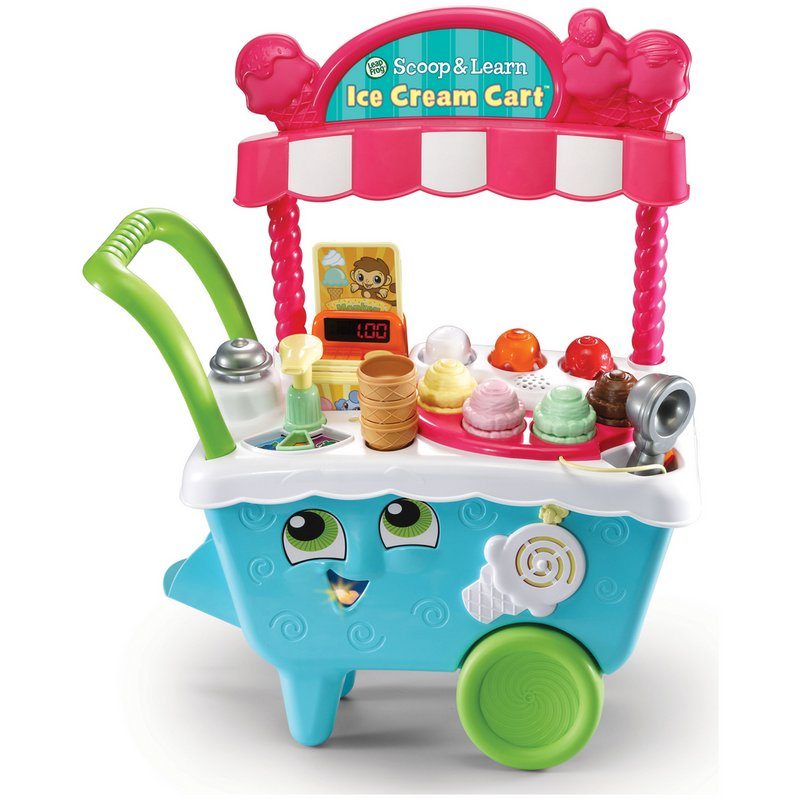 LeapFrog Scoop and Learn Ice Cream Cart from Argos