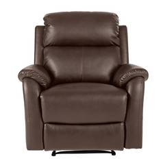 Argos Home Tyler Manual Recliner Chair - Dark Brown