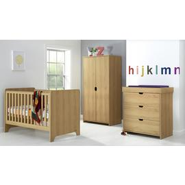 Mamas & Papas Rocco 3 Piece Set - Warm Oak