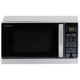 Sharp 800W Microwave with Grill R662SLM - Silver
