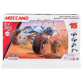 Meccano 15-in-1 Model Motorcycles Set