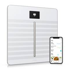Nokia Wi-Fi Cardio & Body Analyser Scales - White