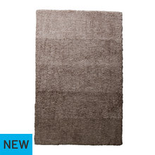 Collection Ombre Supersoft Shaggy Rug - 170x110cm - Mocha