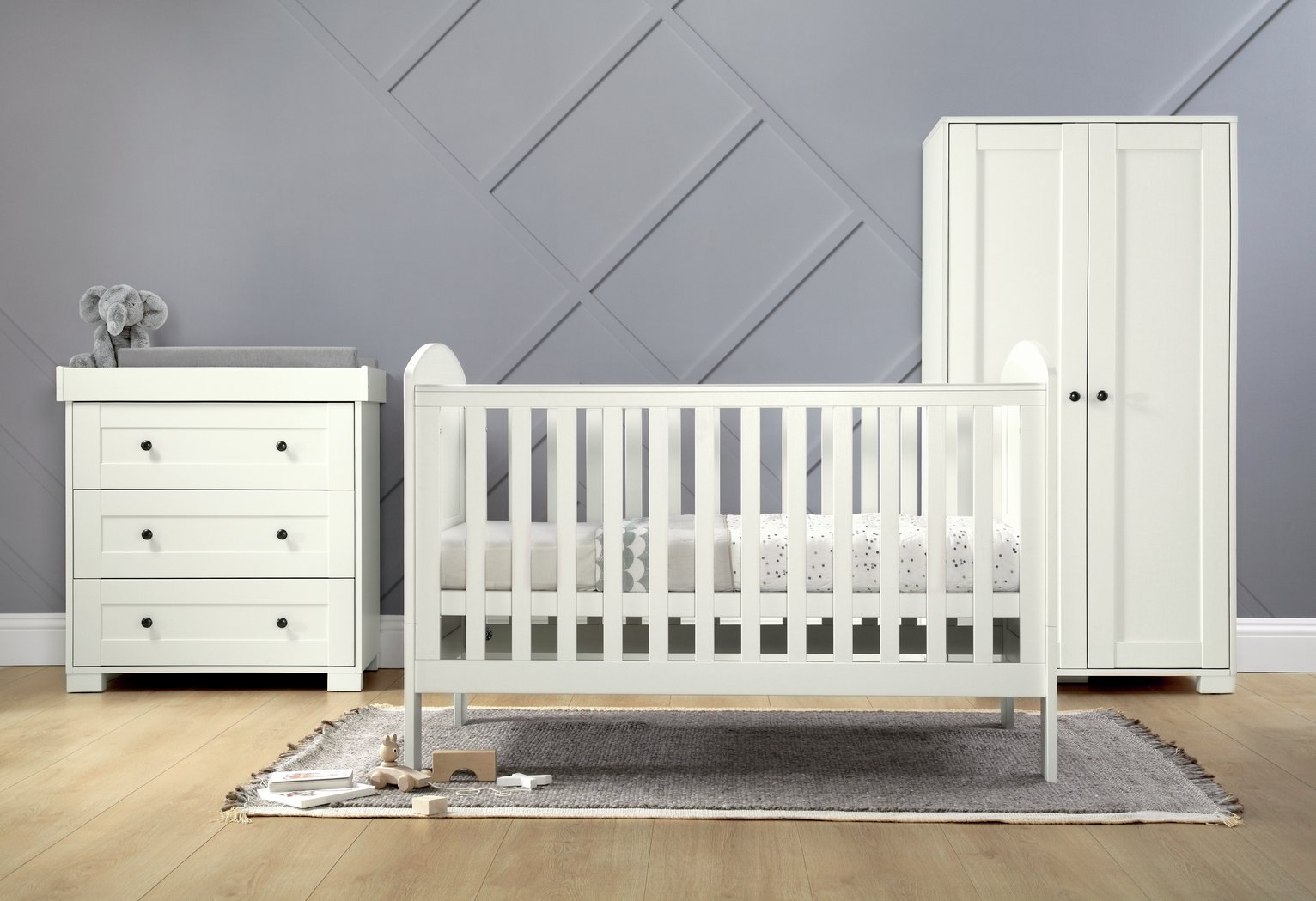 Mamas U0026 Papas Harrow 3 Piece Set   White