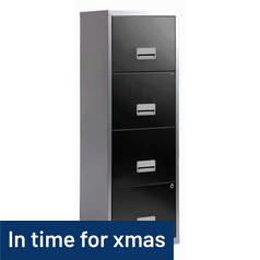 4 Drawer A4 Metal Filing Cabinet