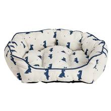 Alfie Oval Small Cream Pet Bed