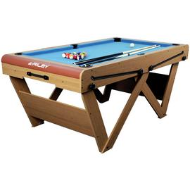 Riley 6ft W Leg Snooker & Pool Table