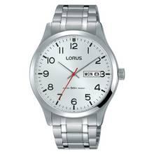 Lorus Men's Silver Stainless Steel Bracelet Watch