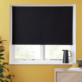 Argos Home Blackout Insulating Roller Blind - Black