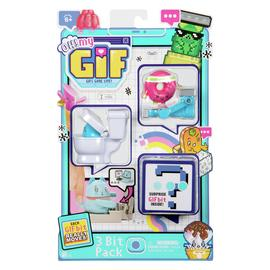 OH! MY GIF 3 Pack-Doughby & Flippy Collectable Moving Toys