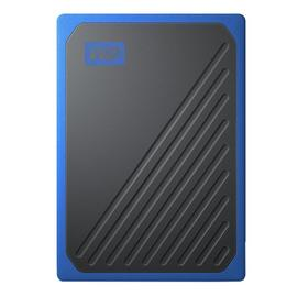 WD Passport Go 1TB Portable SSD Hard Drive - Black / Cobalt
