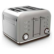Morphy Richards 4 Slice Toaster - Pebble