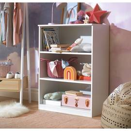 Argos Home Pagnell White 3 Shelf Bookcase