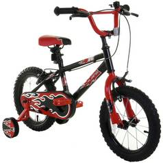 14 Inch Kids Bike - Flames