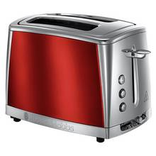 Russell Hobbs 23220 Luna 2 Slice Toaster - Red