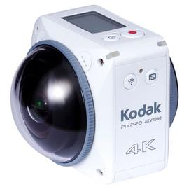Kodak Pixpro SP360 4K VR 360 Degree Camcorder - White