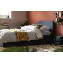 Argos Home Heathdon Side Open Ottoman Single Bed Frame -Grey