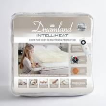 Dreamland Intelliheat Faux Fur Mattress Protector - Kingsize