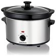 Morphy Richards 460251 2.5L Slow Cooker - Stainless Steel