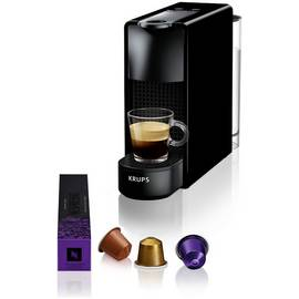 Nespresso Essenza Mini Coffee Machine by KRUPS - Piano Black