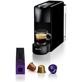 Nespresso Essenza Mini Pod Coffee Machine by Krups - Black