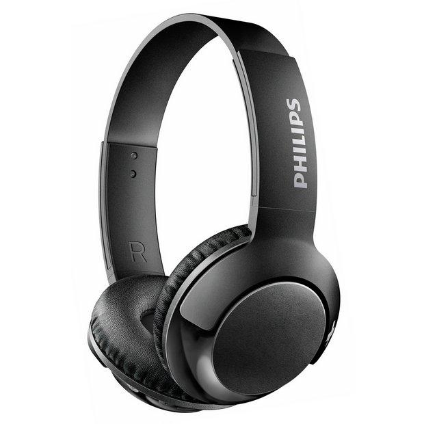 b92cfedbb6d Philips SHB3075 Wireless On-Ear Headphones - Black709/7470