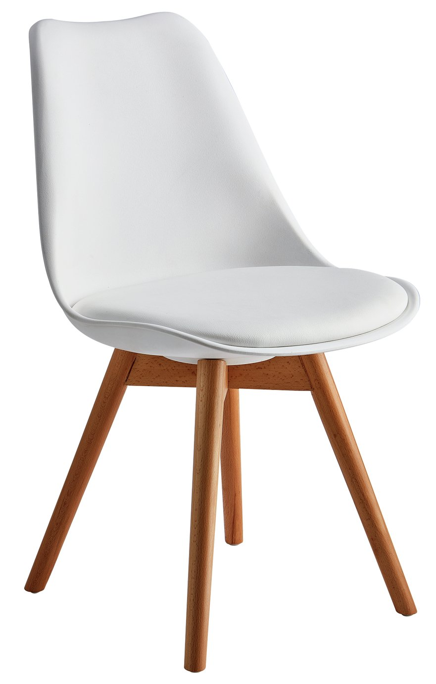 Exceptional Hygena New Charlie Dining Chair   White