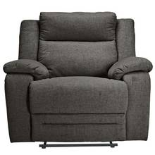 Collection Blake Fabric Manual Recliner Chair - Grey