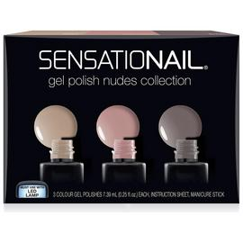 SensatioNail Nude Gel Polish - Set of 3