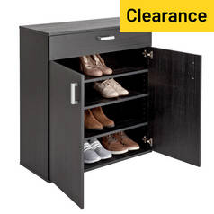 cheap shoe racks with sales and deals at argos and tesco. Black Bedroom Furniture Sets. Home Design Ideas