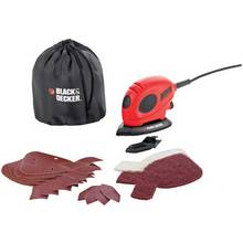 Black & Decker Mouse Detail Sander with Accessories - 55W