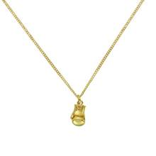Revere Men's 9ct Gold Plated Silver Boxing Glove Pendant