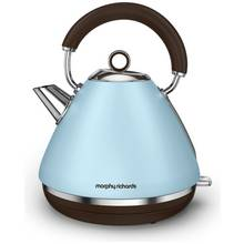 Morphy Richards Pyramid Accents Kettle - Azure