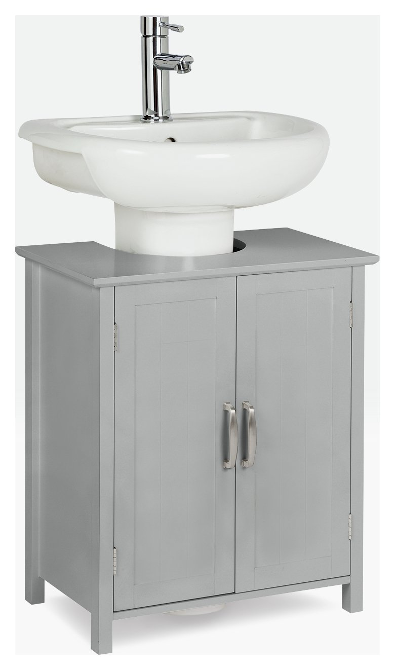 Attirant Buy Argos Home Tongue And Groove Undersink Storage Unit   Grey | Bathroom  Shelves And Storage Units | Argos