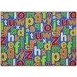 Slip Resistant Rug - 200x300cm - Multicoloured Alphabet